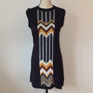 Missoni for Target Famiglia Black Chevron Dress